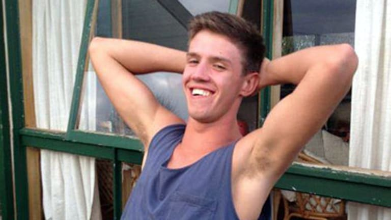 Found dead ... Daniel Eimutis had been missing since Monday.