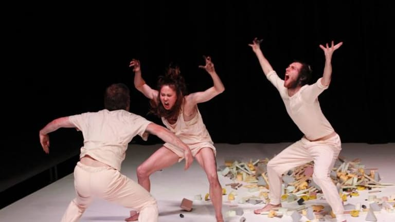 Wild things: Chunky Move dancers performing Anthony Hamilton's Keep Everything.