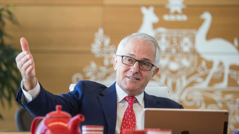 Mr Turnbull says he prefers the Victorian model f