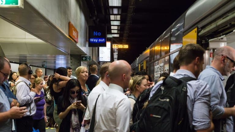 NSW Opposition Leader Luke Foley said that Monday would demonstrate if the new timetable and network was capable of running under the full strain of commuters.
