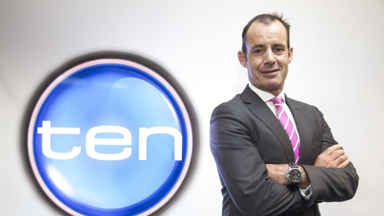 """Network Ten CEO Paul Anderson is """"delighted"""" with the new deal."""