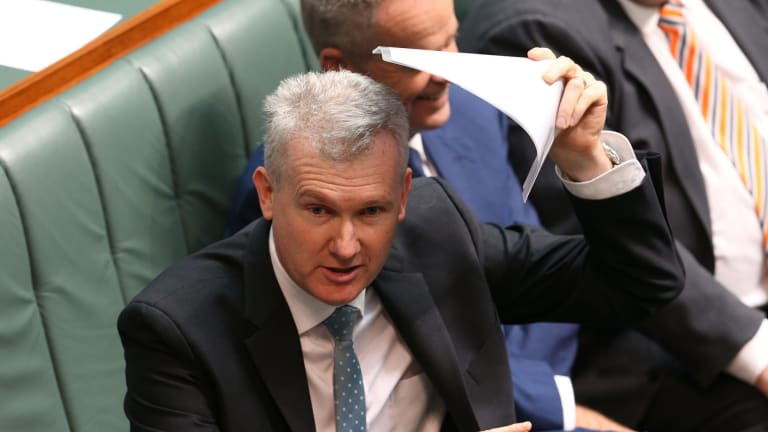 """Tony Burke: """"There are two different pathways but when you test them, the standard that they're tested to is the same."""""""