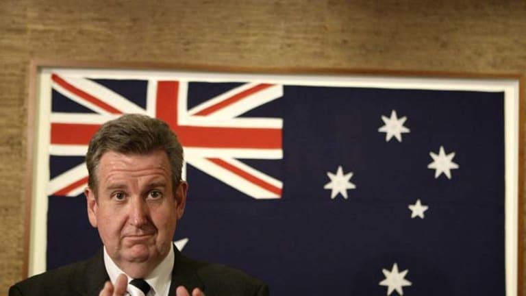 Igniting a sluggish economy ... Barry O'Farrell.