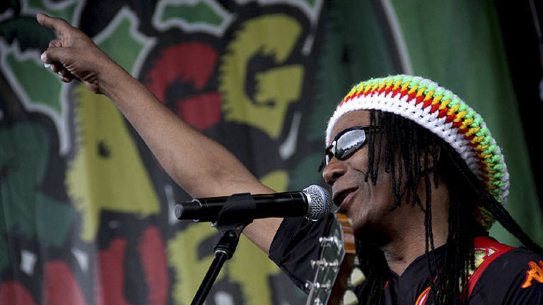 The Original Wailers perform at Reggae for Recovery in aid of the Queensland flood disaster at the Riverstage in January.