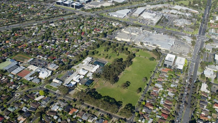 Sell off: Brandon Park Secondary College in Wheelers Hill was sold for $47.5 million but sits in an infrastructure-rich area that is likely to draw more families in the next 30 years.