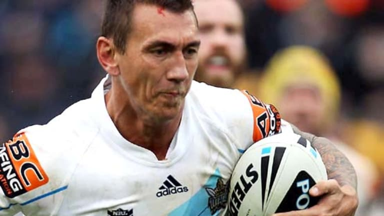 Hanging up the boots . . . Mat Rogers will finish his professional football career at the end of the NRL season.