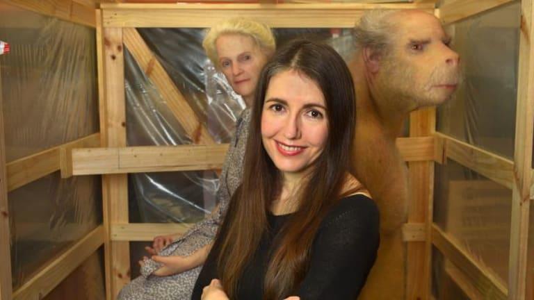 Patricia Piccinini in her Melbourne studio.