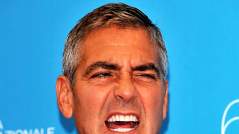 VCE cameo ... George Clooney.