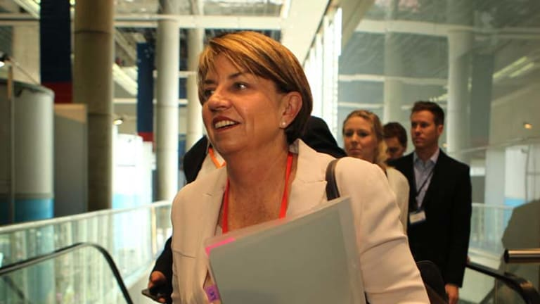 Premier Anna Bligh ... once-in-a-generation opportunity to start from scratch with health system.