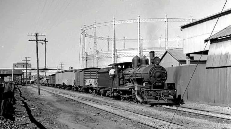 The old Gasworks site at Newstead, Brisbane.