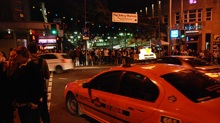 The Queensland Taxi Council has blasted a plan to allow unmarked private taxis to take late-night revellers home.