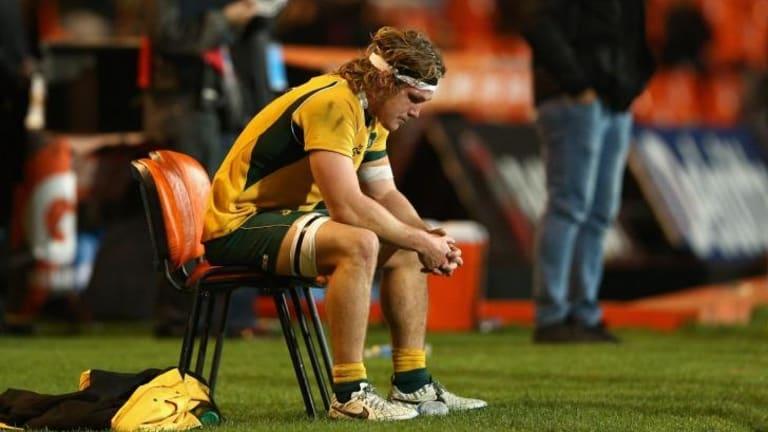 Sin binned: Australian captain Michael Hooper.