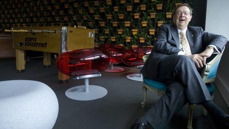 Harold Mitchell has gven $2.5 million to the Australian National University's Development Policy Centre.
