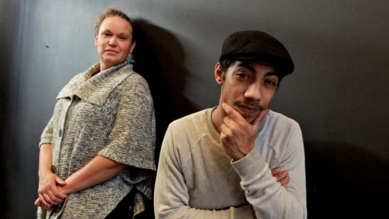 Hunter Page Lochard With Director Leah Purcell