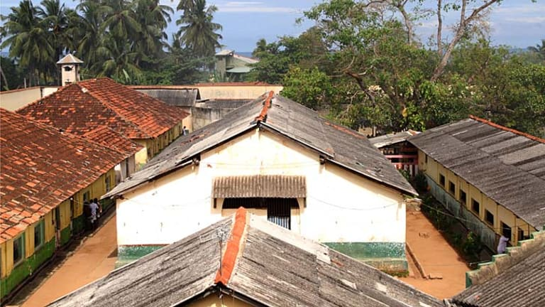 Negombo Prison, near Sri Lanka's international airport, where most of the Sri Lankans whose asylum seeker claims in Australia have been rejected are sent.