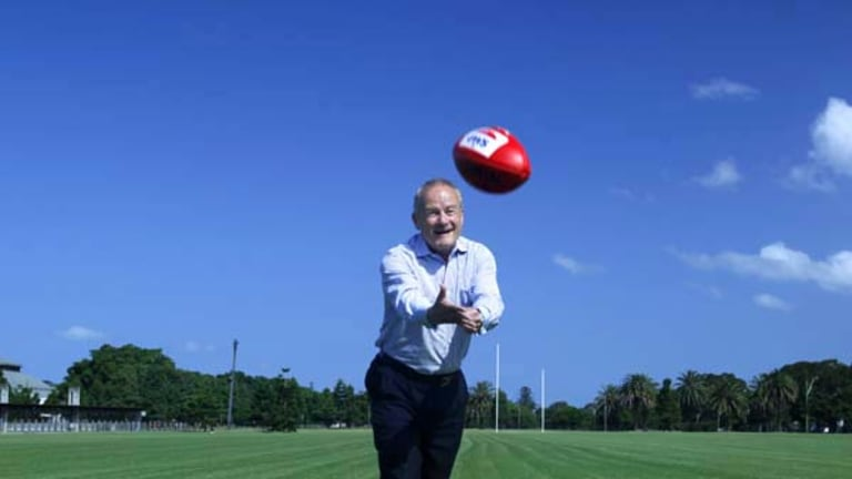 Tony Shepherd expects GWS to pack a punch after a building phase.