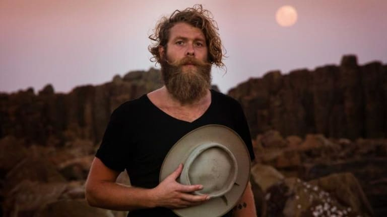 Travelling troubadour: Steve Smyth is somewhat of a contradiction.