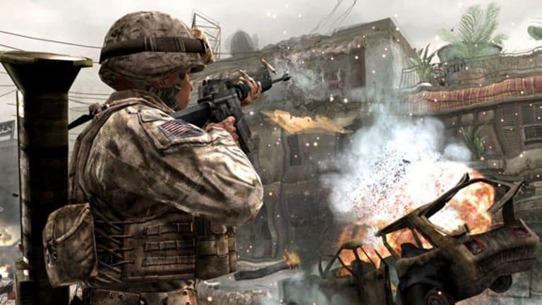 A scene from Call of Duty: Modern Warfare.