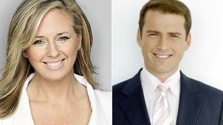 Joining the 60 Minutes team? Helen McCabe and Karl Stefanovic.
