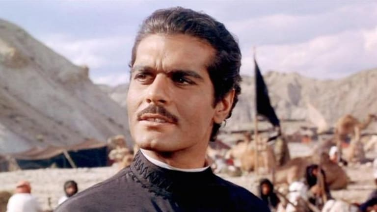 Omar Sharif  in 1965's <i>Doctor Zhivago</i>.