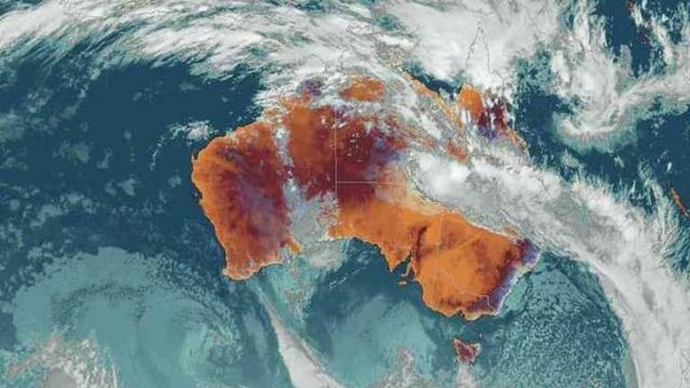 Seen from above: satellite data has shown human activity is changing rainfall patters, scientists say.