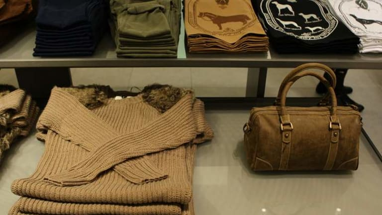 Zara fashion ... popular with celebrities such as Kate Middleton.