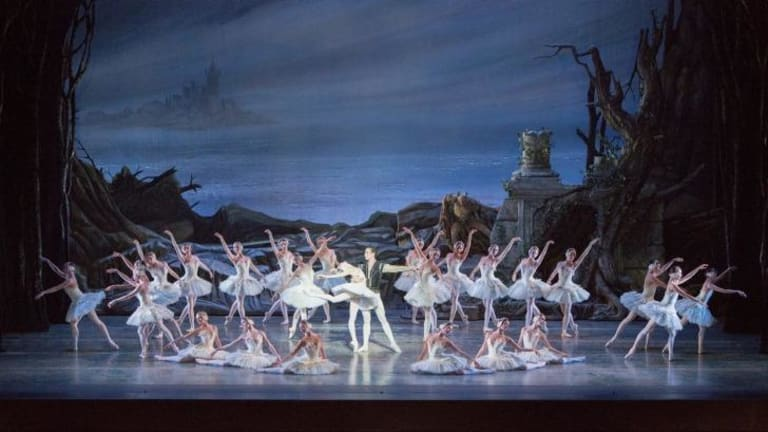 The corps de ballet was graceful and disciplined.