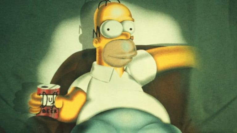 """Can't get enough of that wonderful Duff"": Beer made after Homer Simpson's favorite brew will be taken off liquor shops' shelves after complaints from the Alcohol Beverages Advertising Code."