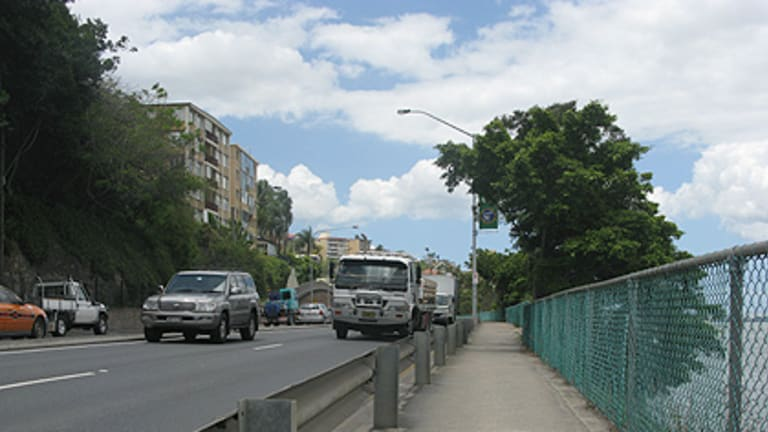 A proposed tunnel from Toowong to Buranda may be pushed back in favour of work to reduce congestion on Kingsford Smith Drive, above.