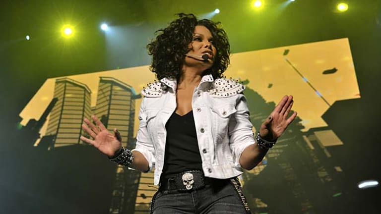 Janet Jackson moves like someone 20 years younger.