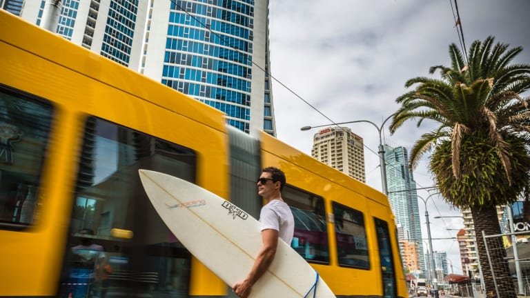 The Gold Coast light rail project exceeded expected passenger numbers in its first 12 months.