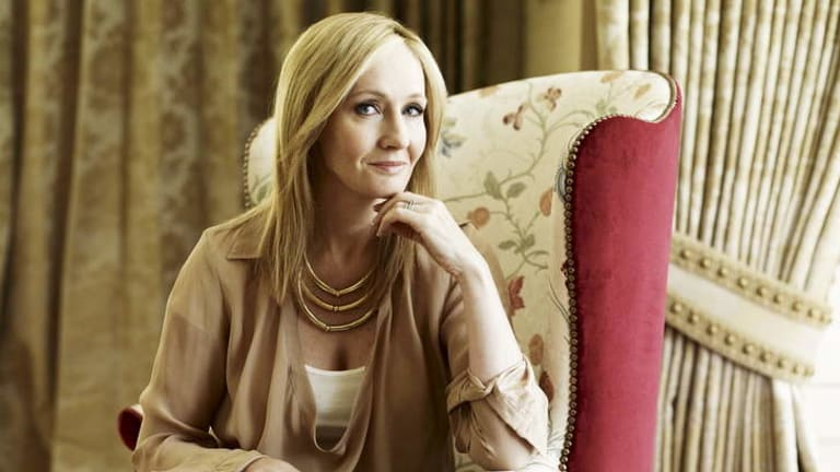 """Undercover: J.K. Rowling, aka """"new"""" crime writer Robert Galbraith - and planning more to come."""