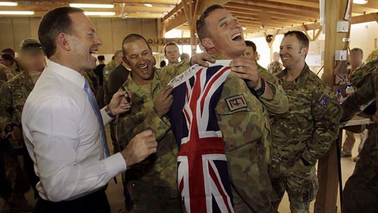 Tony Abbott announces last Australian troops leave Oruzgan