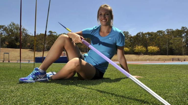 Kelsey-Lee Roberts made a 60.12m throw on Friday after recovering from a serious elbow injury.
