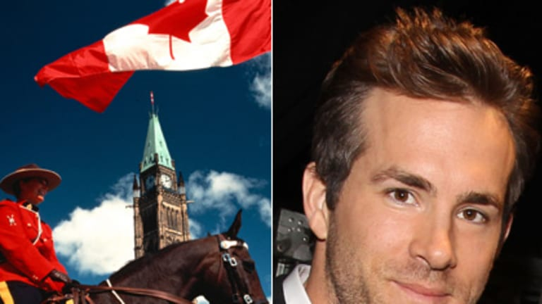 Would have been a Mountie ... Ryan Reynolds.