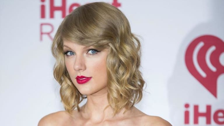 Huge following ... Taylor Swift performed Vance Joy's 'Riptide' on BBC Radio 1's Live Lounge show on Thursday.