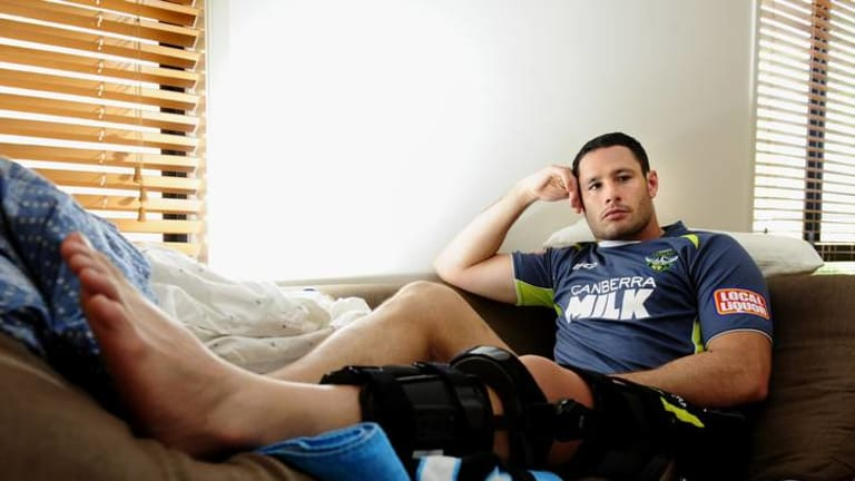 Raiders prop and Cooma junior Brett White is recovering from knee surgery at the moment, but is 'inspired' by the thought of the City v Country clash coming to Cooma.
