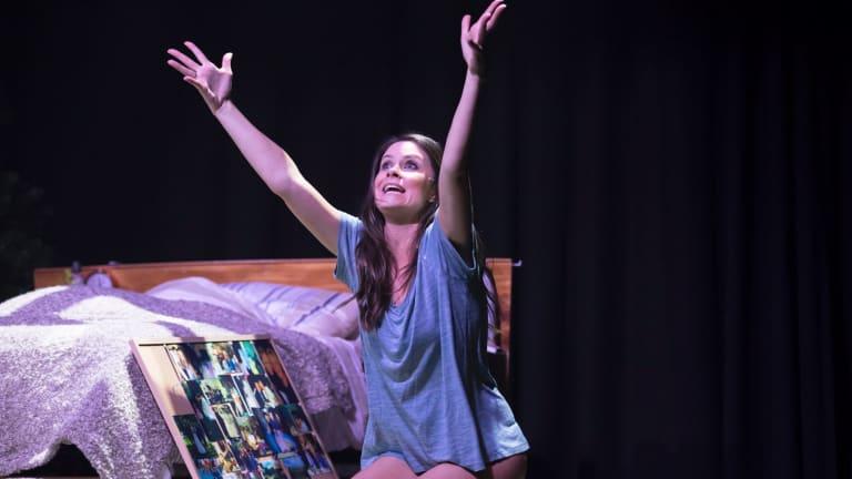 Christie Whelan gets to spread her wings as a performer in Vigil.