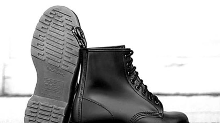 Celebrating half a century ... Dr Martens boots.