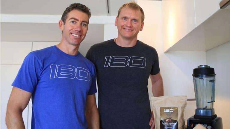 Stuart Cooke and Guy Lawrence have cornered the online supplement market.