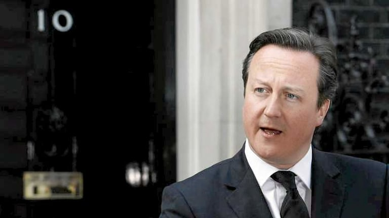 British Prime Minister David Cameron is said to be shocked at the news of a high-profile affair that has the potential to damage his government.