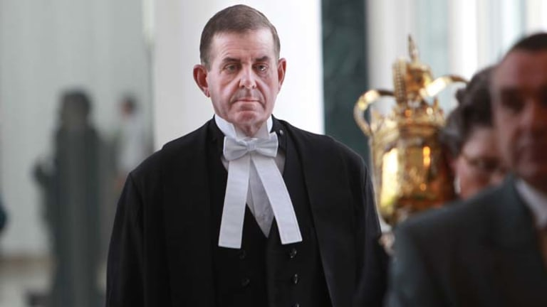 Standing down ... Peter Slipper will face a longer period out of the Speaker's chair.