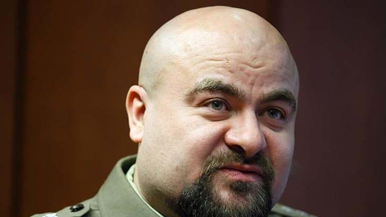 Colonel Mikolaj Przbyl ... recovering in hospital.