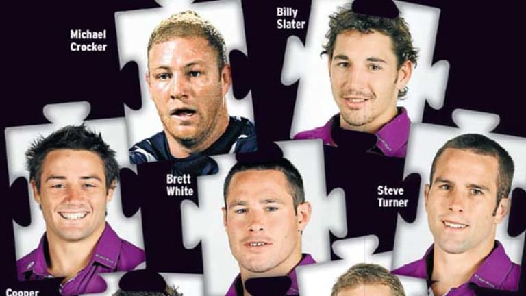 Secret seven ... these players will have their payments scrutinised.