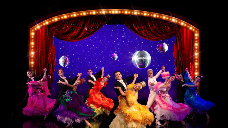 Scott Hastings, Tina Sparkle, Liz Holt and all the Strictly Ballroom favourites.