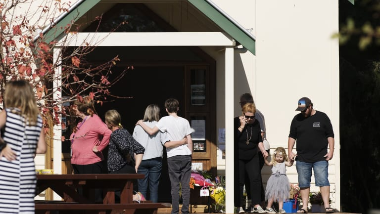 A temporary support centre has been set up in Margaret River after the tragedy.