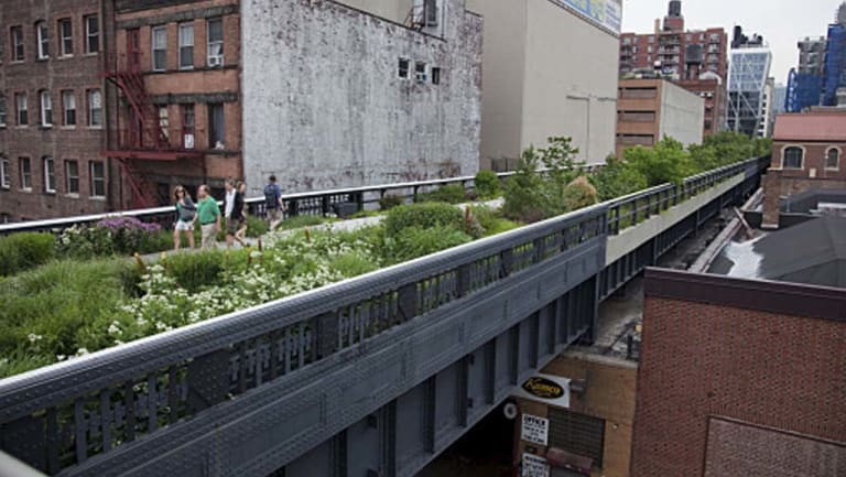 New York's Highline has become a major tourist attraction. Could a similar pedestrian-friendly connection work in Southbank?