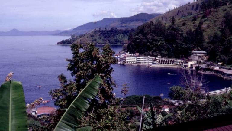 Lake Toba, Sumatra, Indonesia.