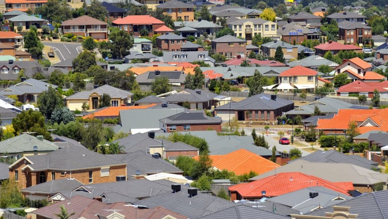 Surprisingly apartment prices fell only 3.5 per cent, performing better than houses.