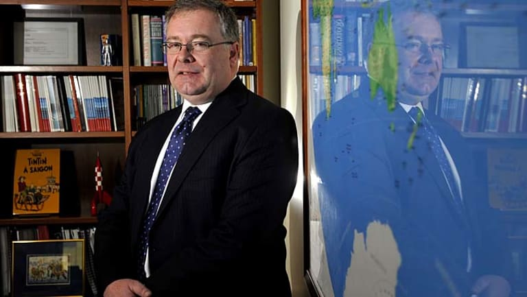 Executive Director of Australian Strategic Policy Institute Peter Jennings.